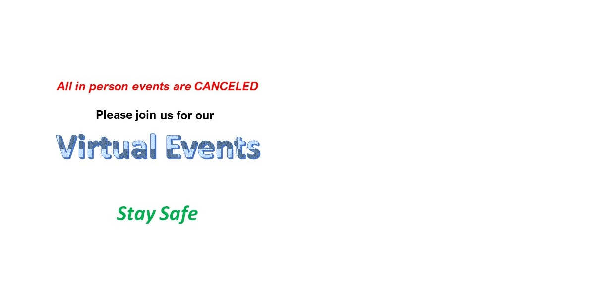 All Events Are CANCELED