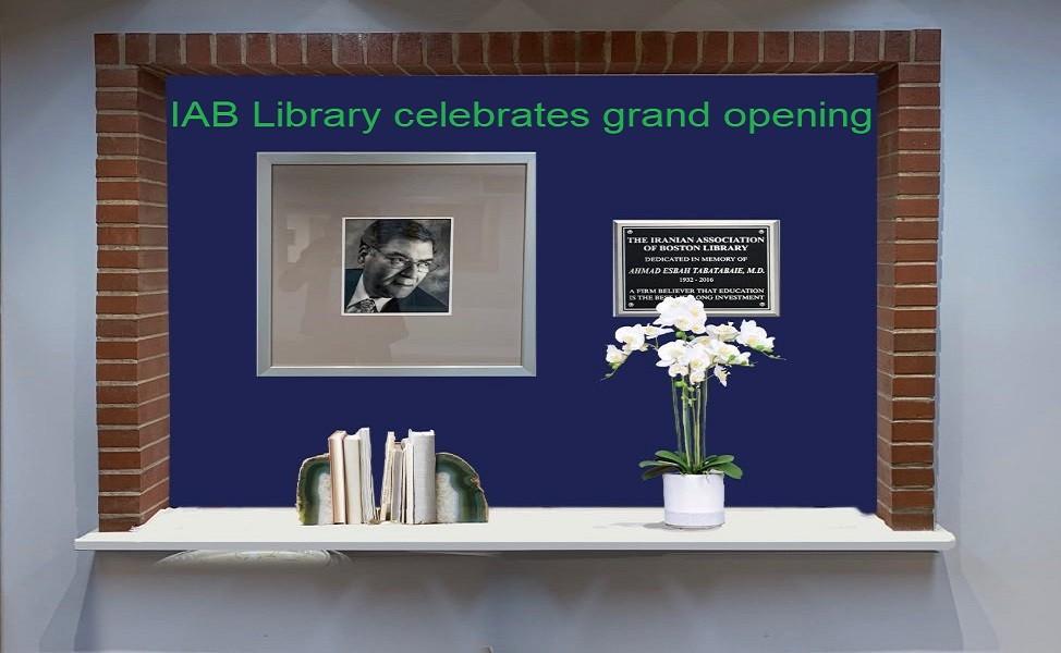 IAB Library celebrates grand opening