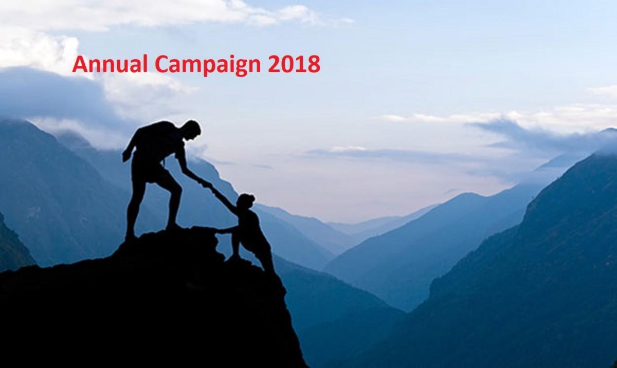 Annual Campaign 2018